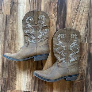 American Rag Dawnn Western Cowboy Boot Sz 7.5
